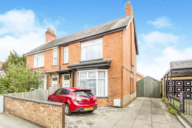 3 bed semi-detached house for sale in Lutterworth Road, Blaby, Leicester