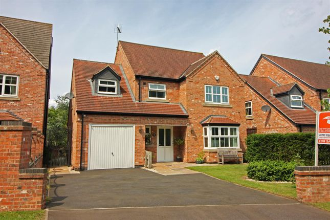 Thumbnail Detached house for sale in The Conifers, Ranby, Retford