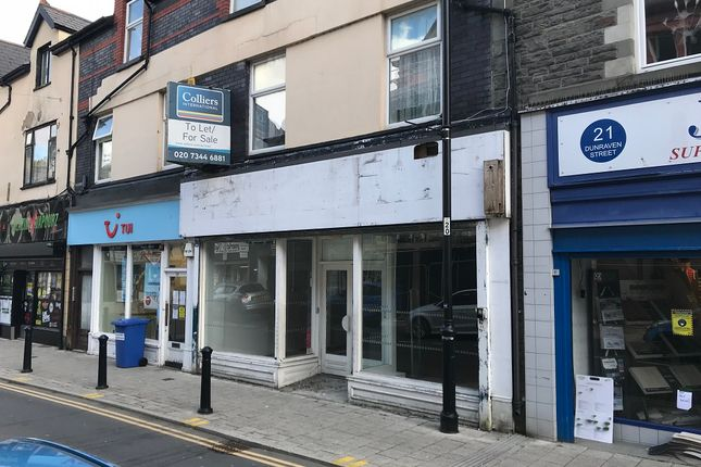 Thumbnail Retail premises to let in Dunraven Street, Tonypandy