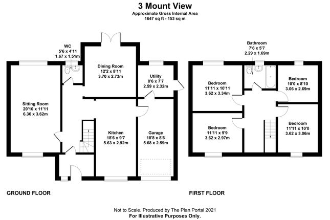 Detached house for sale in Mount View, Lanchester