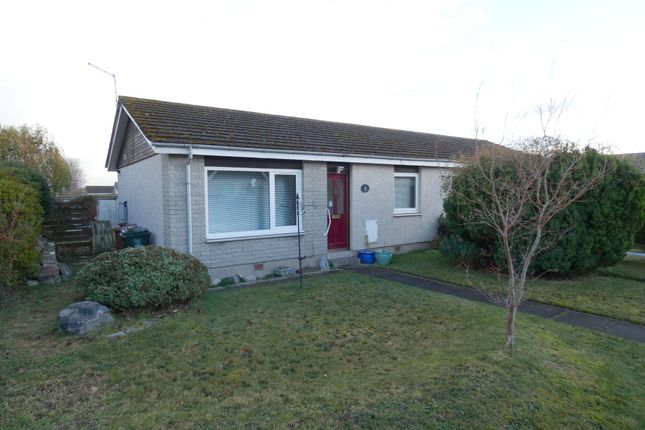 Thumbnail Semi-detached bungalow for sale in 105 Forbeshill, Forres