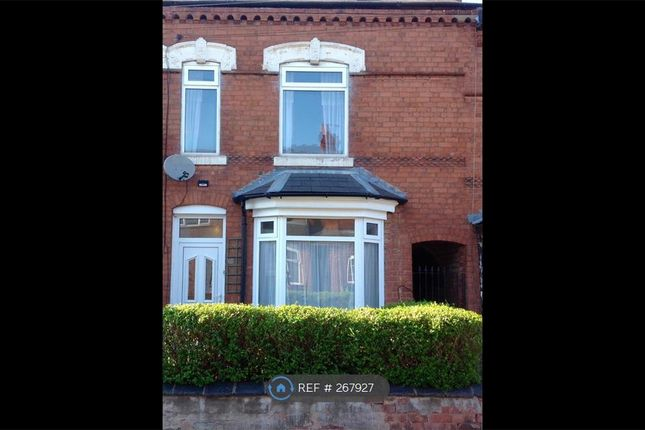 Thumbnail Terraced house to rent in St Marys Road, Birmingham