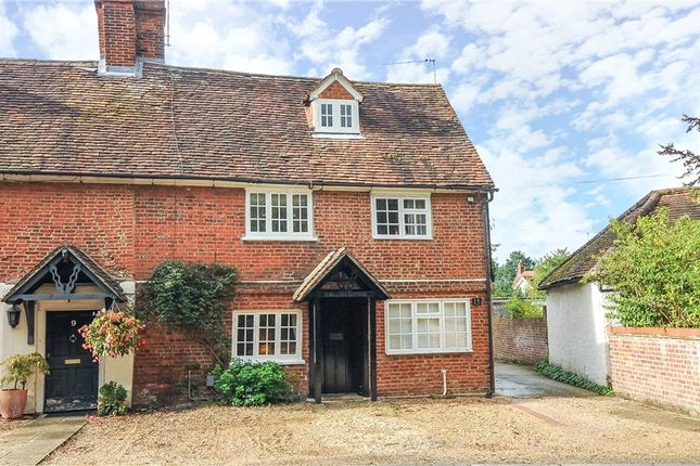 Thumbnail End terrace house for sale in Plough Road, Yateley, Hampshire