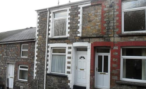 Thumbnail Terraced house to rent in High Street, Abersychan, Pontypool