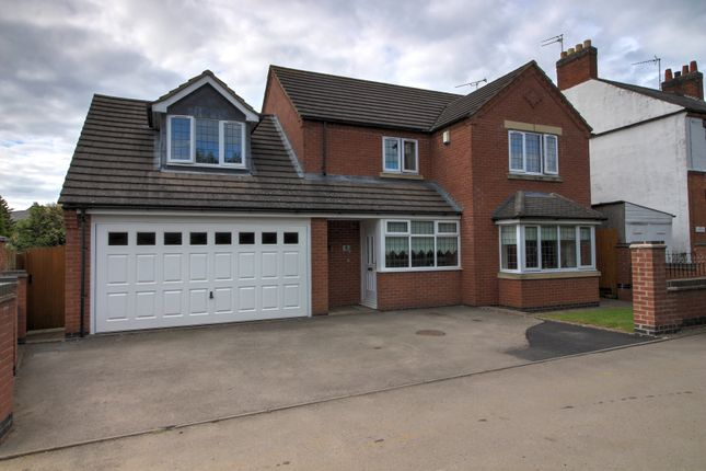 Detached house for sale in Spring Gardens, Sapcote, Leicester