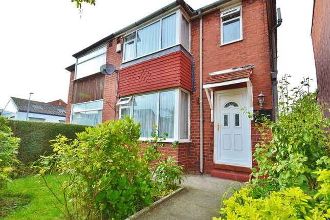 Thumbnail Semi-detached house to rent in Chadwick Road, Eccles, Manchester