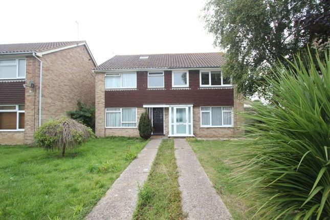 Thumbnail Semi-detached house to rent in The Paddocks, Lancing