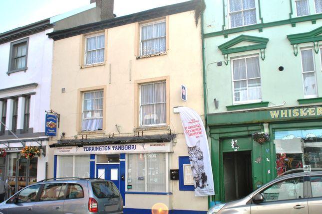 Thumbnail Restaurant/cafe for sale in South Street, Torrington, Devon