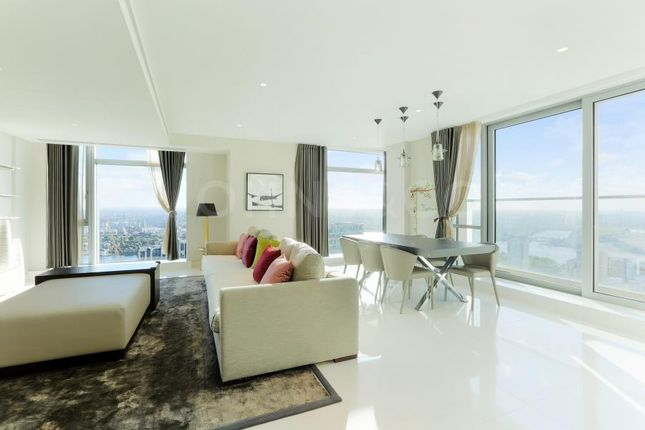 Thumbnail Flat for sale in Pan Peninsula, West Tower, London