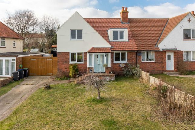 Thumbnail Semi-detached house for sale in Firs Road, Woolage Village, Canterbury