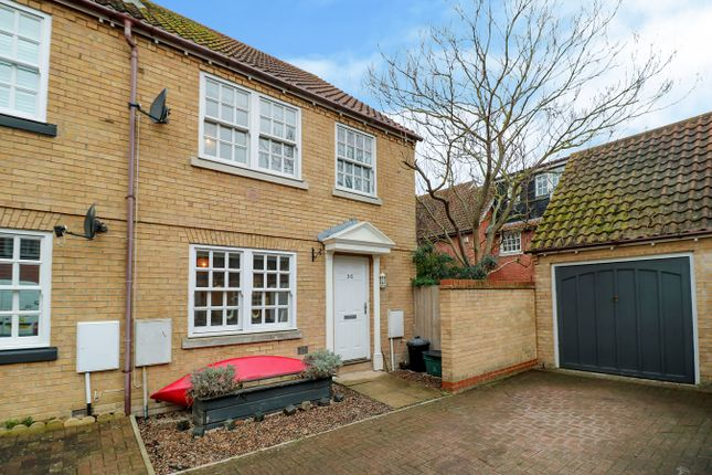 Thumbnail Semi-detached house for sale in Old Ferry Road, Wivenhoe, Colchester