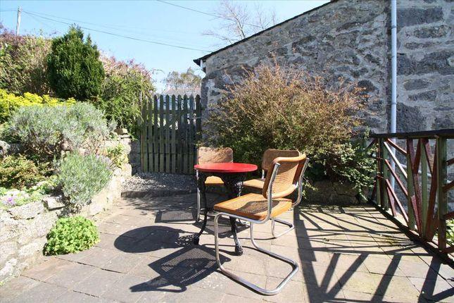 Patio Area of Parc Terrace, Gwel Fynydd, Llangoed LL58