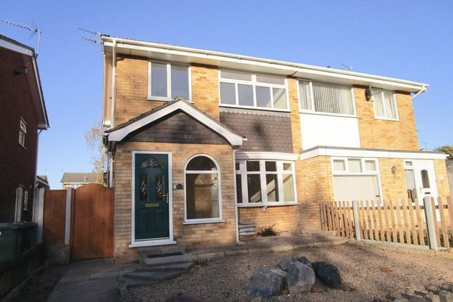 Thumbnail Semi-detached house to rent in Crofters Walk, Belton, Great Yarmouth