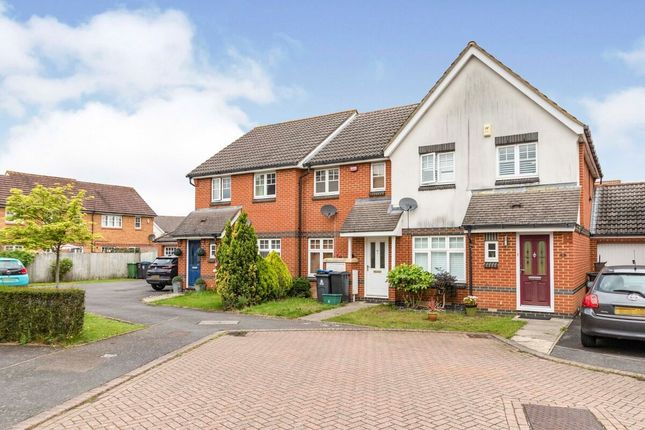 Thumbnail Terraced house to rent in Charles Babbage Close, Chessington