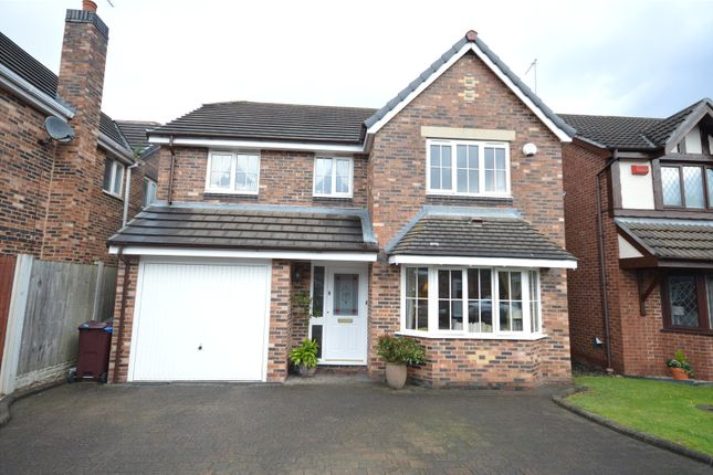 Thumbnail Detached house for sale in Claydon Court, Halewood, Liverpool