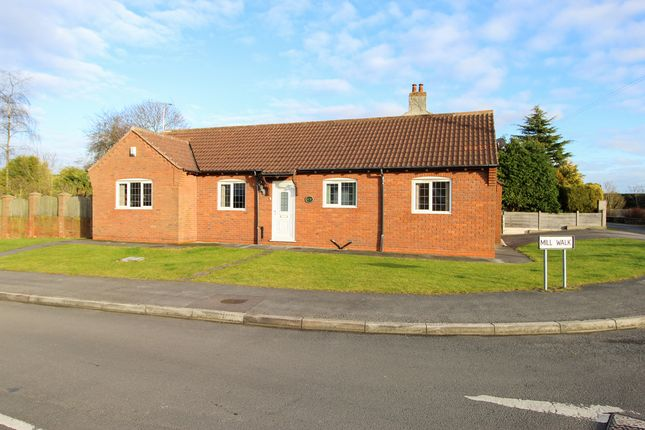 Thumbnail Detached bungalow for sale in Mill Walk, Bolsover, Chesterfield