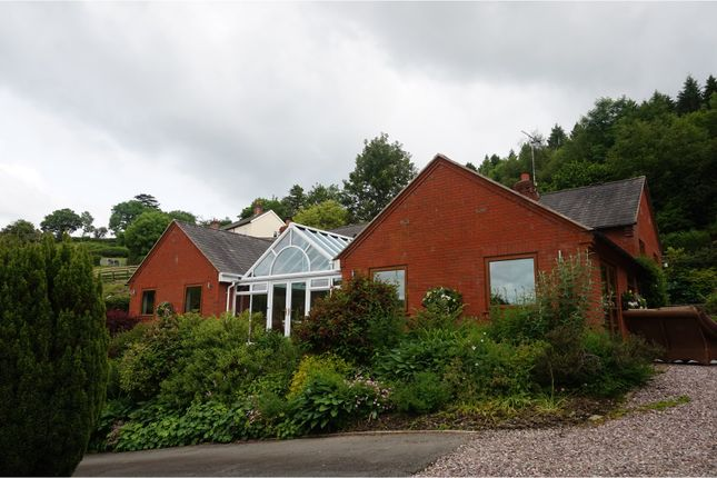 Thumbnail Detached bungalow for sale in Leighton, Welshpool
