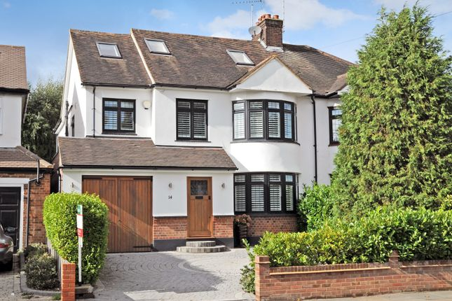 Thumbnail Semi-detached house for sale in Friars Avenue, Shenfield, Essex
