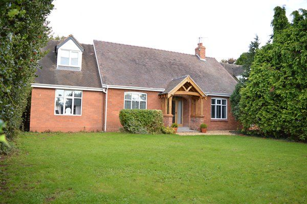 Thumbnail Detached bungalow for sale in Crickmerry, Market Drayton