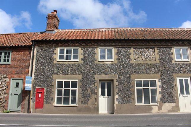 Thumbnail Terraced house to rent in Holt Road, Letheringsett, Holt, Norfolk