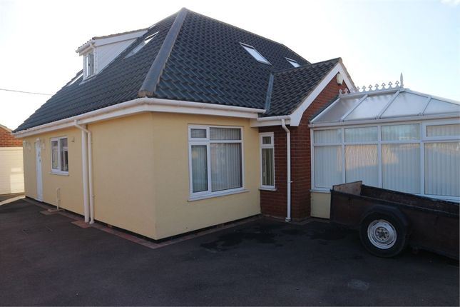 Thumbnail Detached bungalow for sale in Beach Close, Scratby, Great Yarmouth, Norfolk