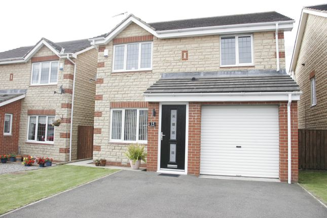 Thumbnail Detached house for sale in Epsom Drive, Ashington, Northumberland