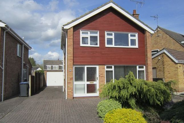 Thumbnail Detached house for sale in Meadow Road, Wolston, Coventry