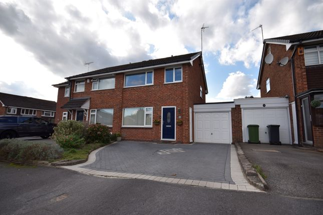 Thumbnail Semi-detached house for sale in Weale Grove, Warwick