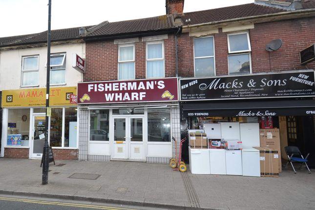 Thumbnail Retail premises for sale in 90 Fawcett Road, Portsmouth