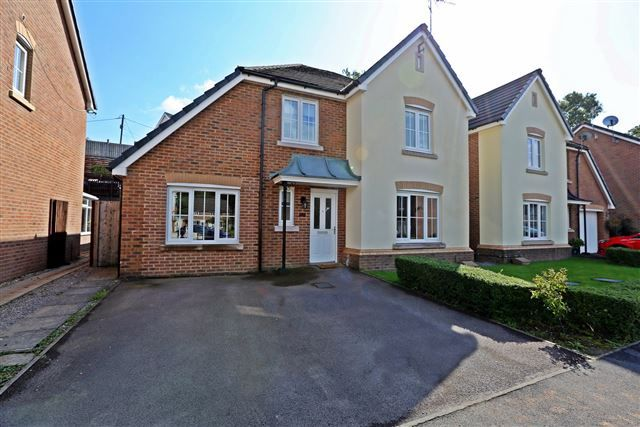 Thumbnail Detached house for sale in Cadwal Court, Llantwit Fardre, Pontypridd