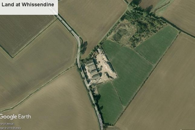 Thumbnail Land for sale in Stapleford Road, Whissendine, Oakham