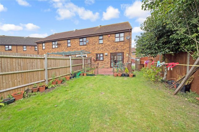 Thumbnail End terrace house for sale in Heritage Drive, Gillingham, Kent