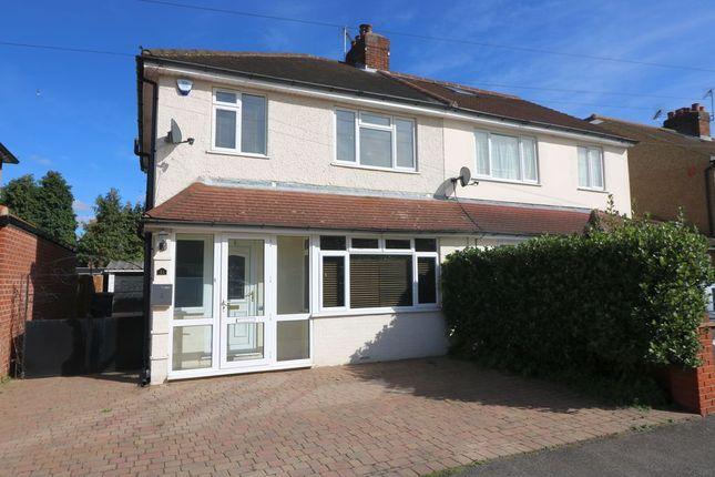 3 bed semi-detached house to rent in Hythefield Avenue, Egham