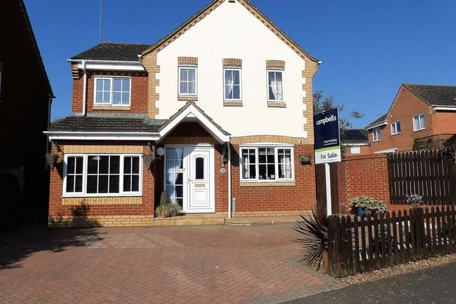 Thumbnail Detached house for sale in Lang Farm, Daventry