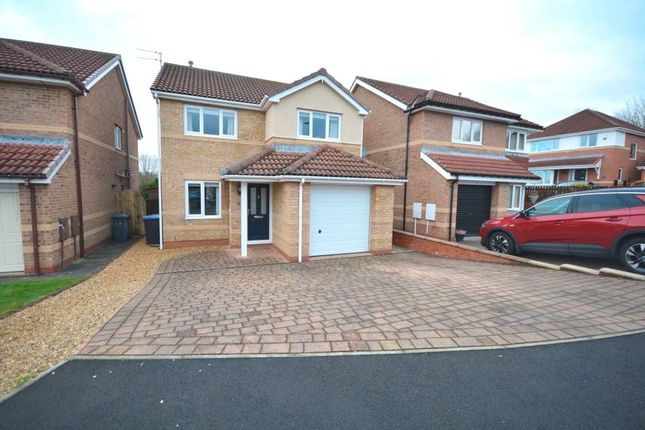 Thumbnail Detached house for sale in Cartmel Court, Chester Le Street