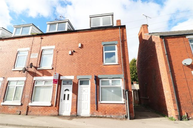 Thumbnail End terrace house to rent in North Road, Clowne, Chesterfield