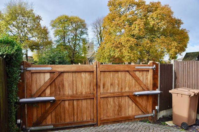 Electric Gates of Badsey Fields Lane, Badsey, Evesham WR11