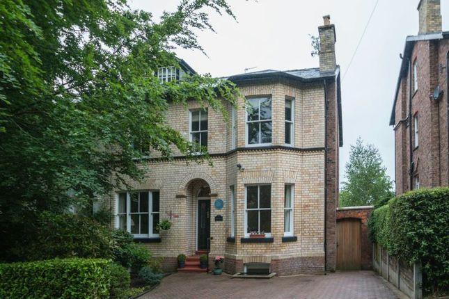 Thumbnail Semi-detached house for sale in Grange Road, Bowdon, Altrincham