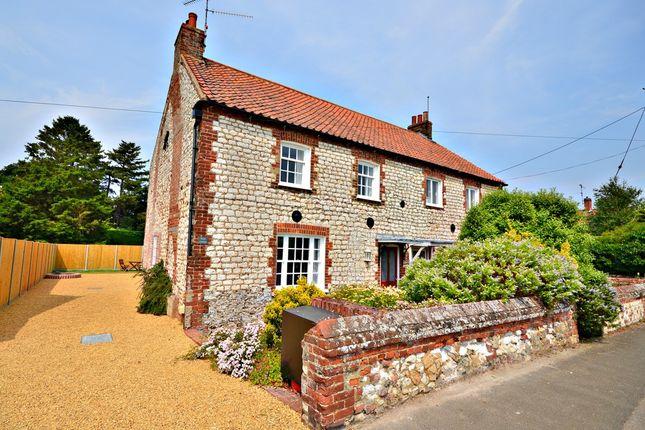 Thumbnail Semi-detached house for sale in High Street, Thornham, Hunstanton