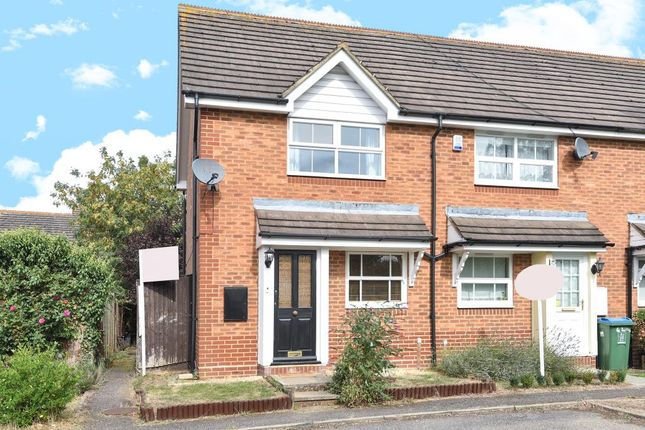 Thumbnail End terrace house to rent in Whitley Court, Aylesbury