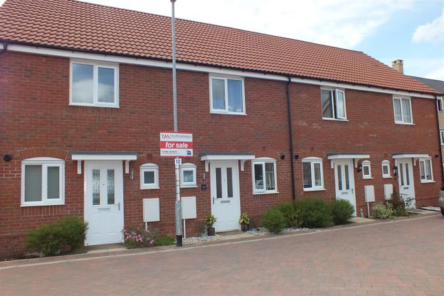 Thumbnail Terraced house for sale in Crocus Close, Eynesbury, St. Neots