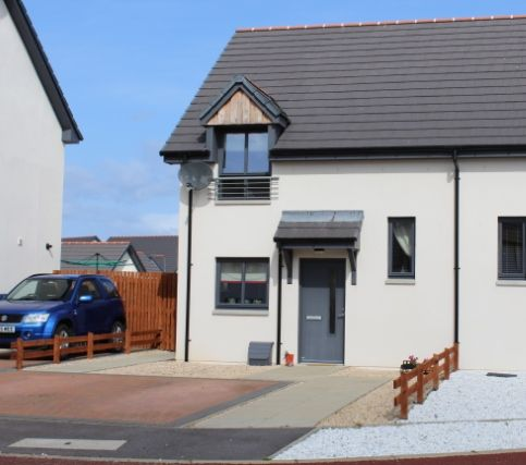 Thumbnail Semi-detached house for sale in Middleton Court, Buckie