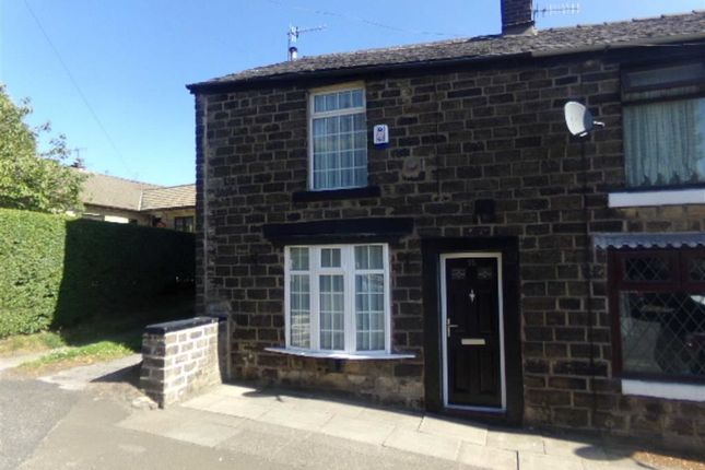 Thumbnail End terrace house to rent in Back Moor, Mottram, Hyde