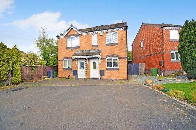 Thumbnail Semi-detached house for sale in Bowland Close, Newdale, Telford