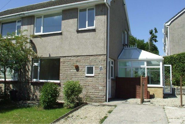 Thumbnail Semi-detached house to rent in Priors Way, Swansea