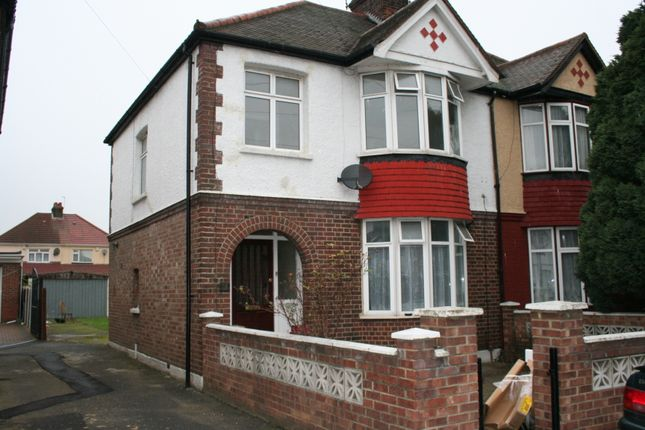 Thumbnail Semi-detached house to rent in Chalfont Road, Hayes, Middlesex