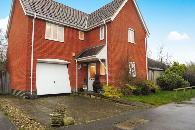Thumbnail Detached house for sale in Killick Crescent, Carlton Colville, Lowestoft