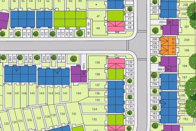 Site Plan of Plot 133 Stadium Road, Hall Green, Birmingham B28