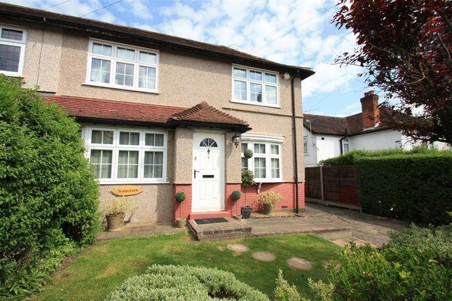Thumbnail Semi-detached house for sale in Brookshill Avenue, Harrow