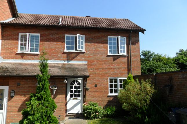 Thumbnail End terrace house to rent in Hurst Close, Liphook